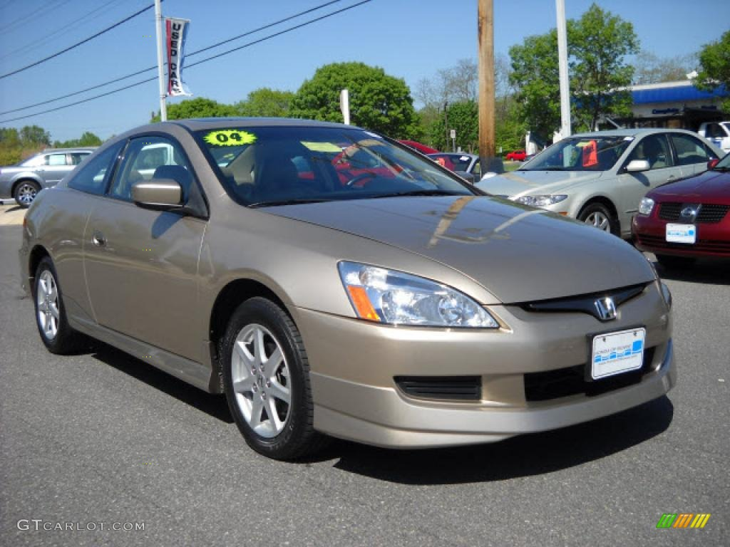 2004 desert mist metallic honda accord ex v6 coupe. Black Bedroom Furniture Sets. Home Design Ideas