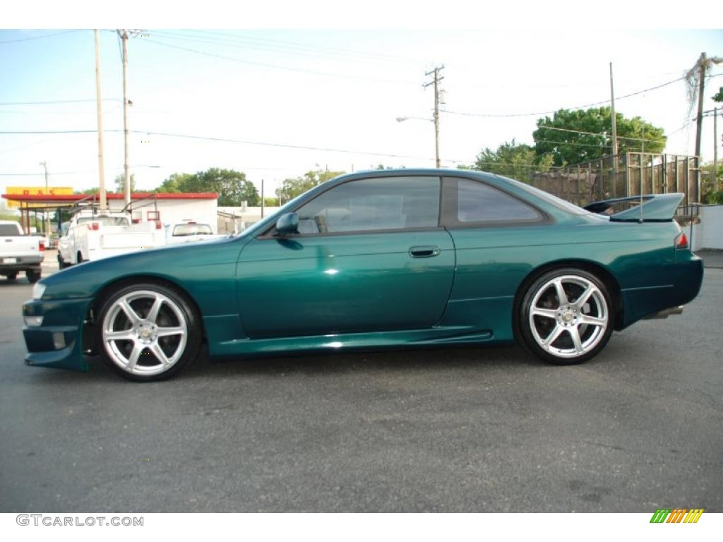 1998 Cobalt Green Pearl Metallic Nissan 240sx Se 29483723