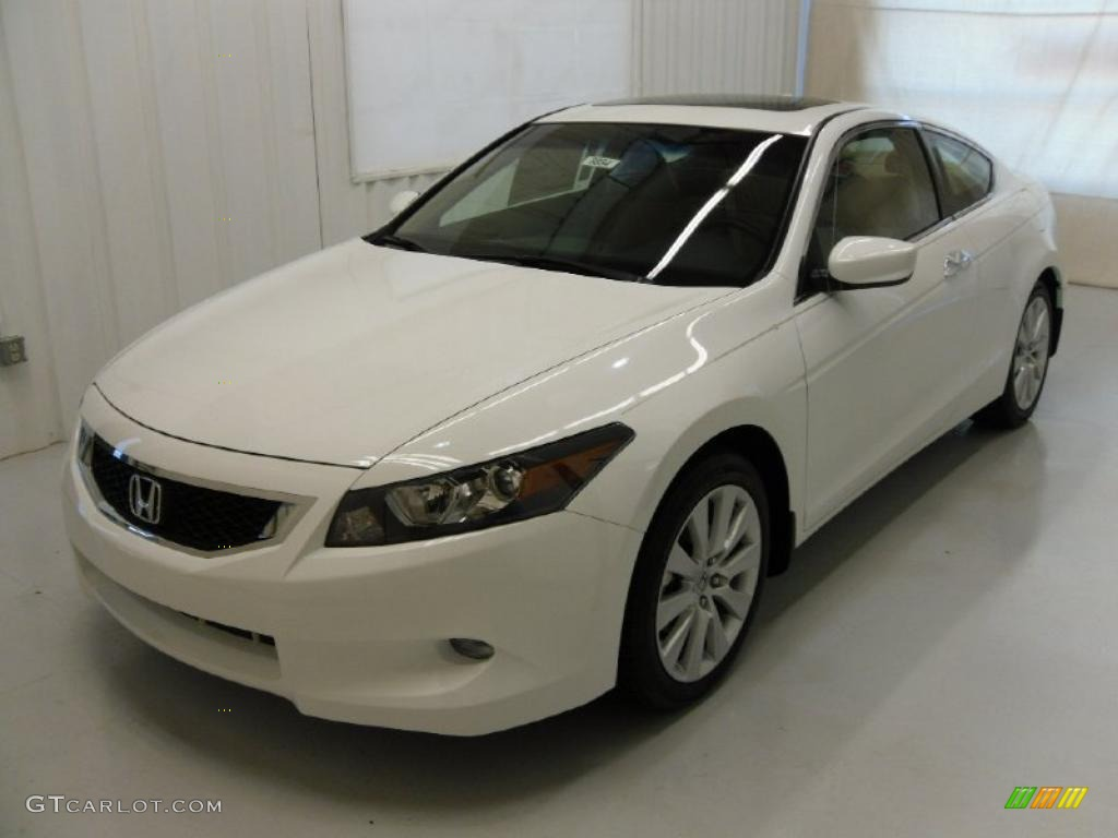 2010 Taffeta White Honda Accord Ex L V6 Coupe 29483900