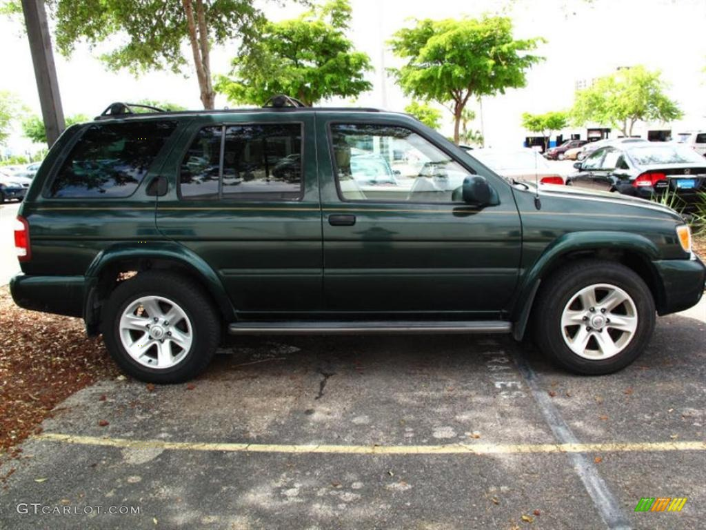 2002 sherwood green pearl nissan pathfinder le 29536089 photo 2 gtcarlot com car color galleries gtcarlot com