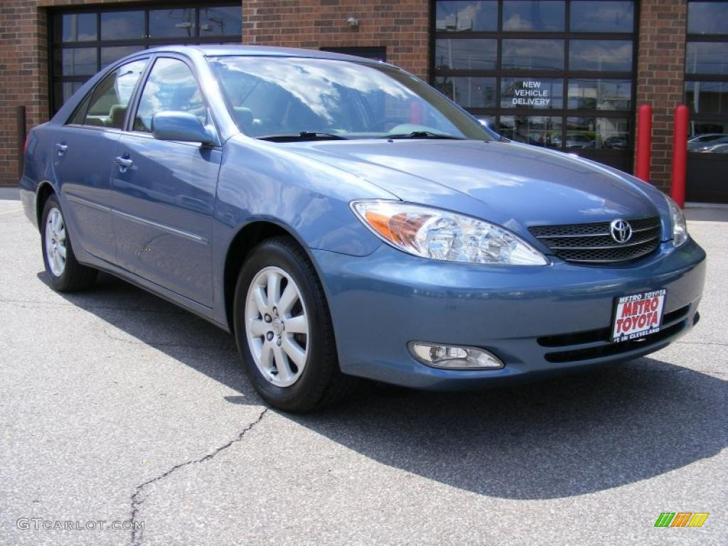 2003 catalina blue metallic toyota camry xle 29536113. Black Bedroom Furniture Sets. Home Design Ideas