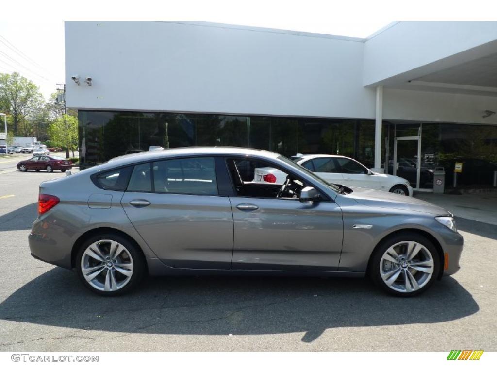 2010 Space Grey Metallic BMW 5 Series 550i Gran Turismo #29536188 ...