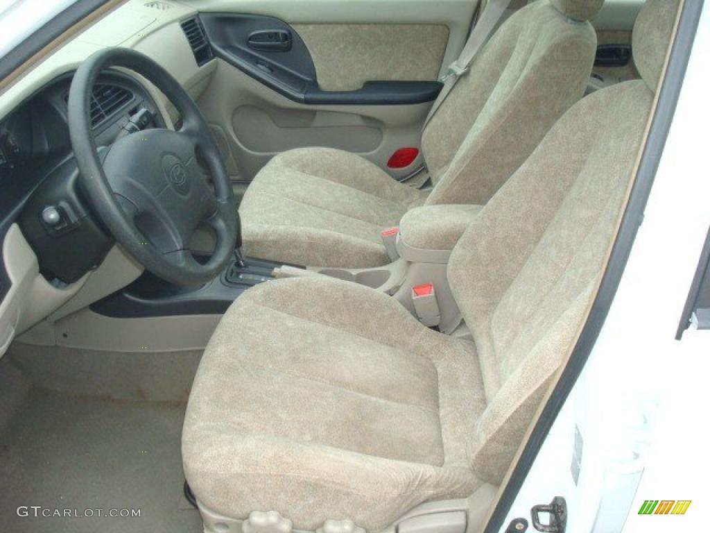 2002 Nordic White Hyundai Elantra Gls Sedan 29536195 Photo 8 Car Color Galleries