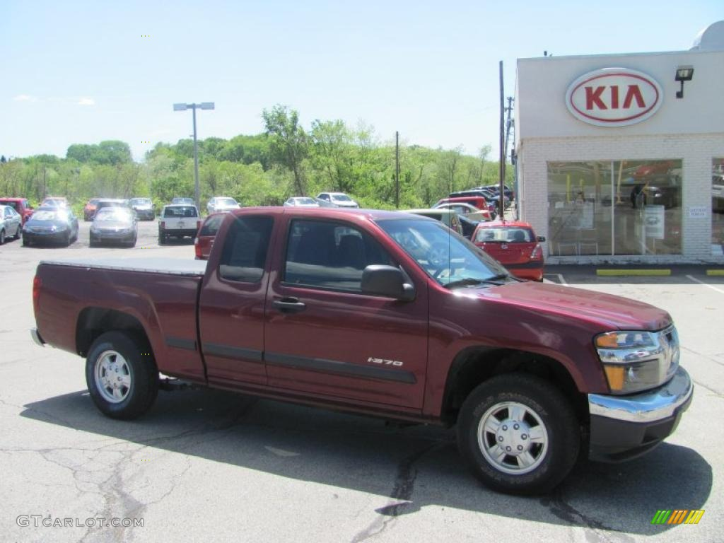 2007 I Series Truck I 370 LS Extended Cab   Deep Crimson Red Metallic