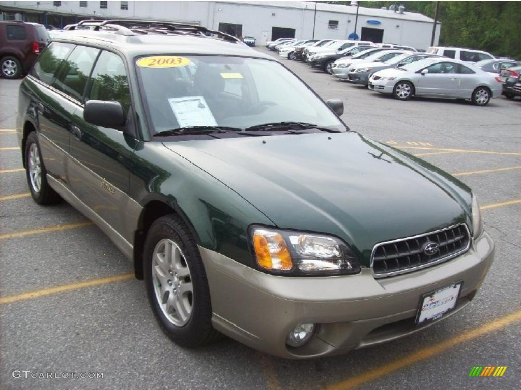2003 timberline green pearl subaru outback wagon 29600150 2003 outback wagon timberline green pearl gray photo 1 vanachro Image collections