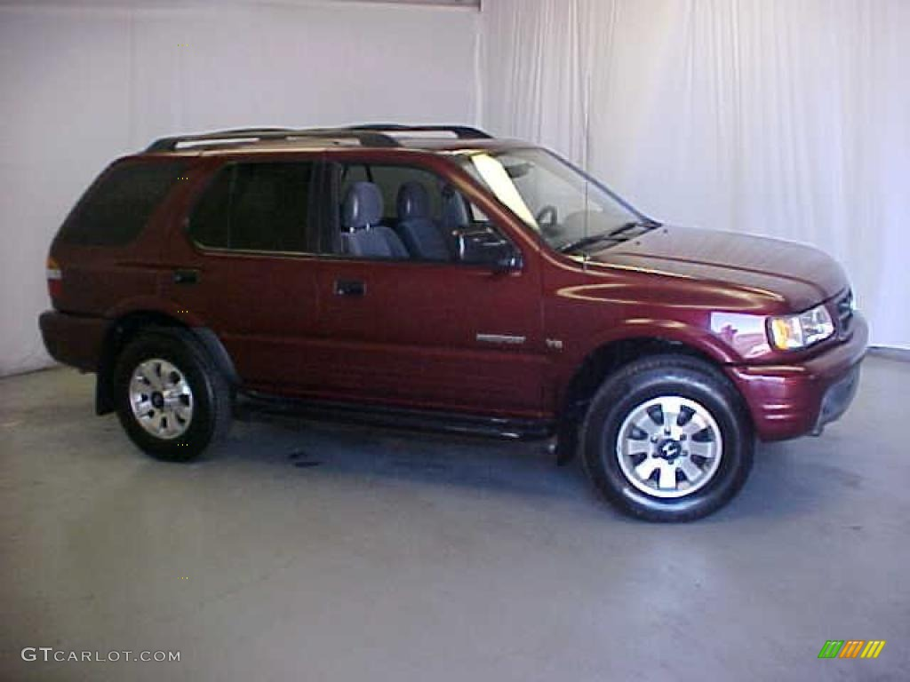 2002 Current Red Honda Passport Lx 4wd 29600176 Photo 3 Car Color Galleries