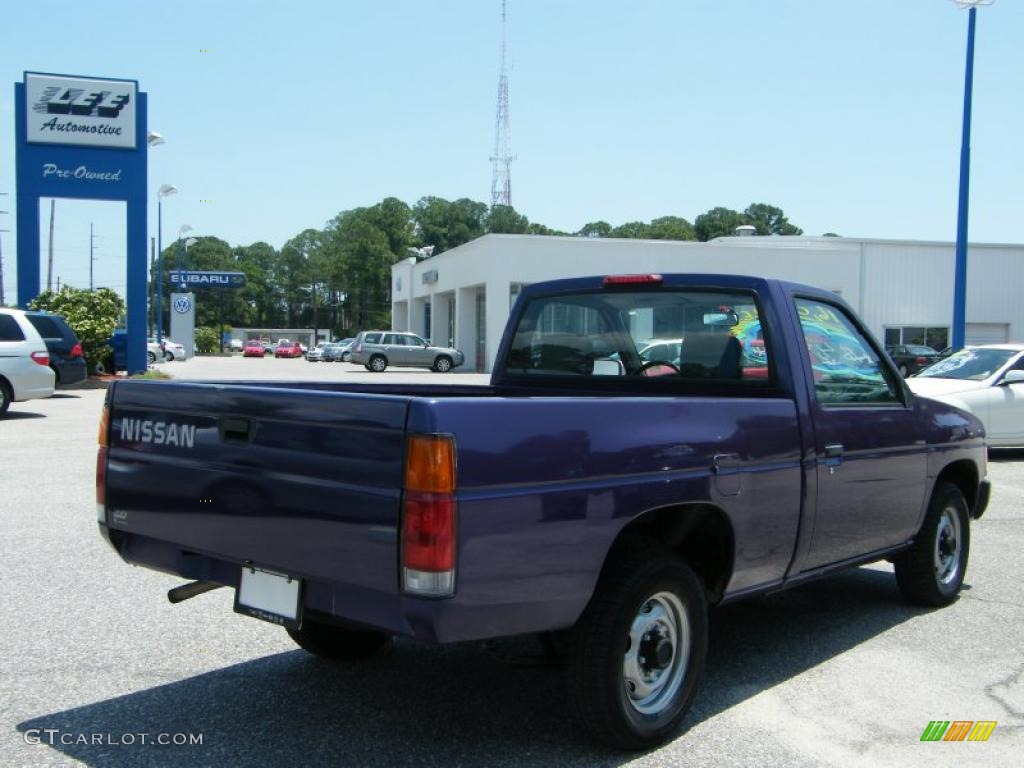1996 hardbody truck regular cab royal blue metallic dark gray photo 5