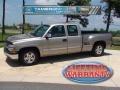2002 Light Pewter Metallic Chevrolet Silverado 1500 Extended Cab  photo #1