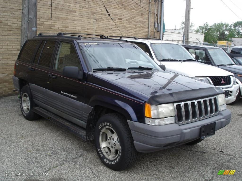 1997 deep amethyst pearl jeep grand cherokee laredo 4x4 #29669124
