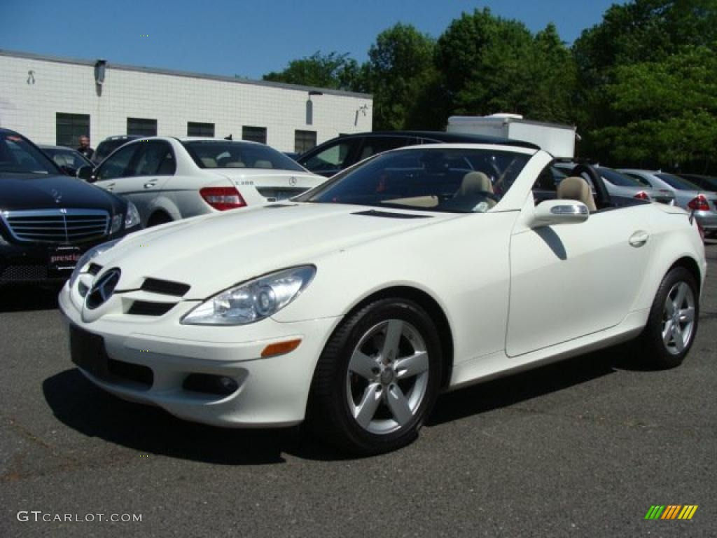 2008 arctic white mercedes benz slk 280 roadster 29668720 car color galleries. Black Bedroom Furniture Sets. Home Design Ideas