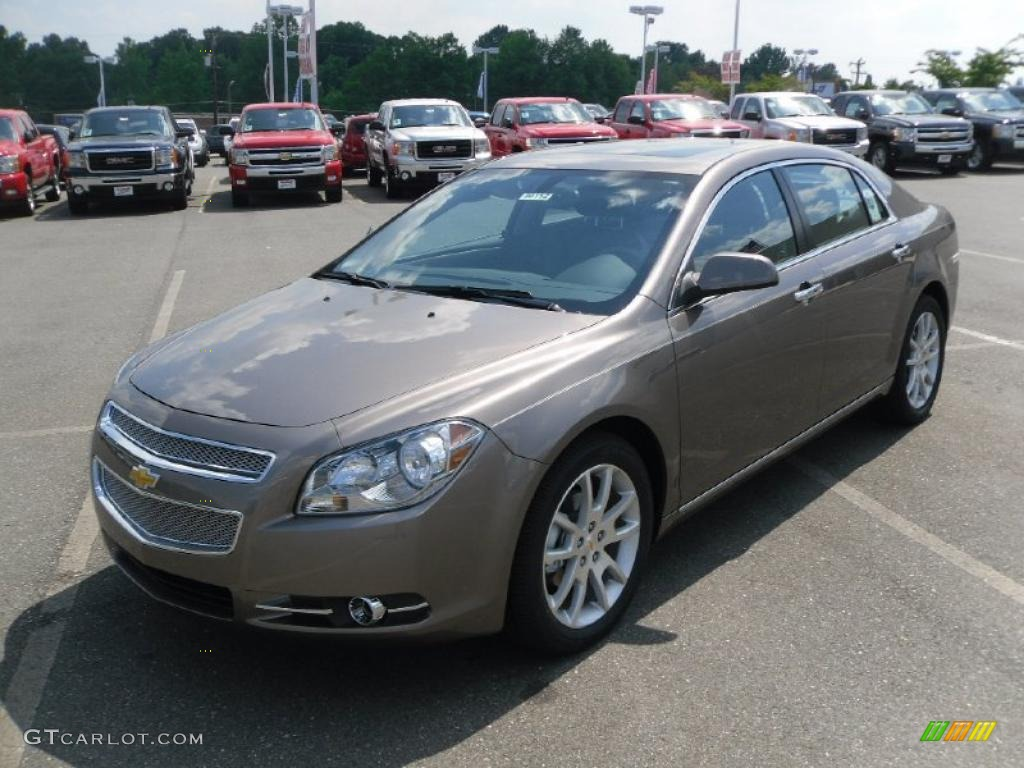 2010 mocha steel metallic chevrolet malibu ltz sedan 29724035 car color galleries