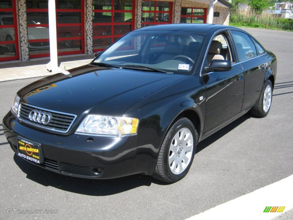 2001 ebony pearl effect audi a6 2 8 quattro sedan. Black Bedroom Furniture Sets. Home Design Ideas