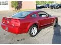 2007 Redfire Metallic Ford Mustang V6 Deluxe Coupe  photo #5