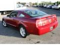 2007 Redfire Metallic Ford Mustang V6 Deluxe Coupe  photo #8