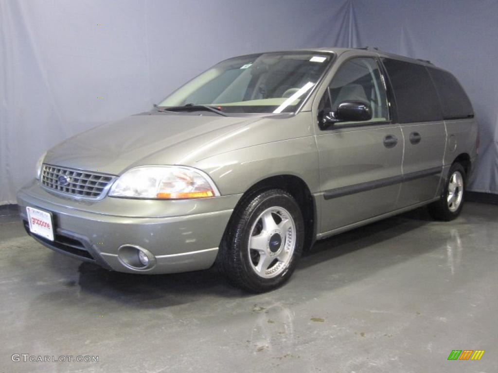 2003 Light Parchment Gold Metallic Ford Windstar Lx 29723894