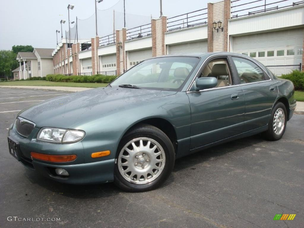 1997 rainforest green mica mazda millenia s sedan #29723947