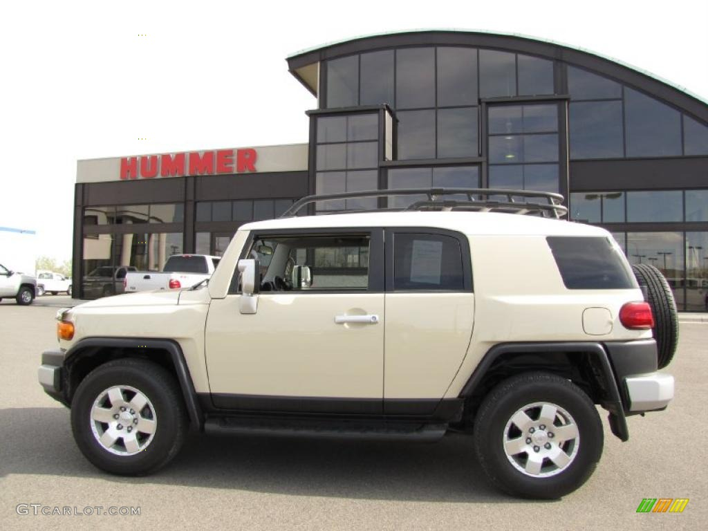 2008 sandstorm metallic toyota fj cruiser 4wd 29723985. Black Bedroom Furniture Sets. Home Design Ideas