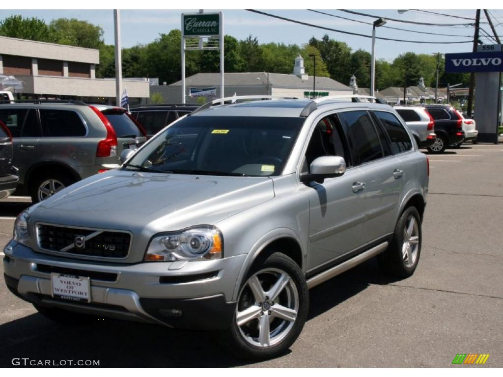 2008 electric silver metallic volvo xc90 v8 sport awd. Black Bedroom Furniture Sets. Home Design Ideas