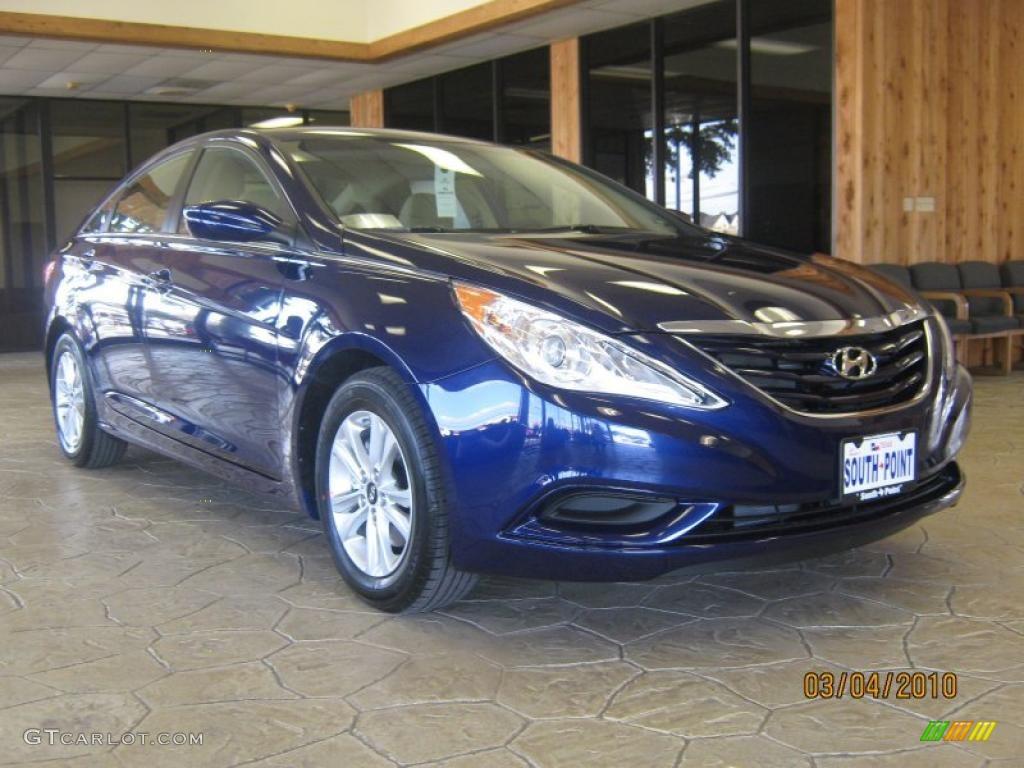 2011 Indigo Blue Pearl Hyundai Sonata Gls 29762831