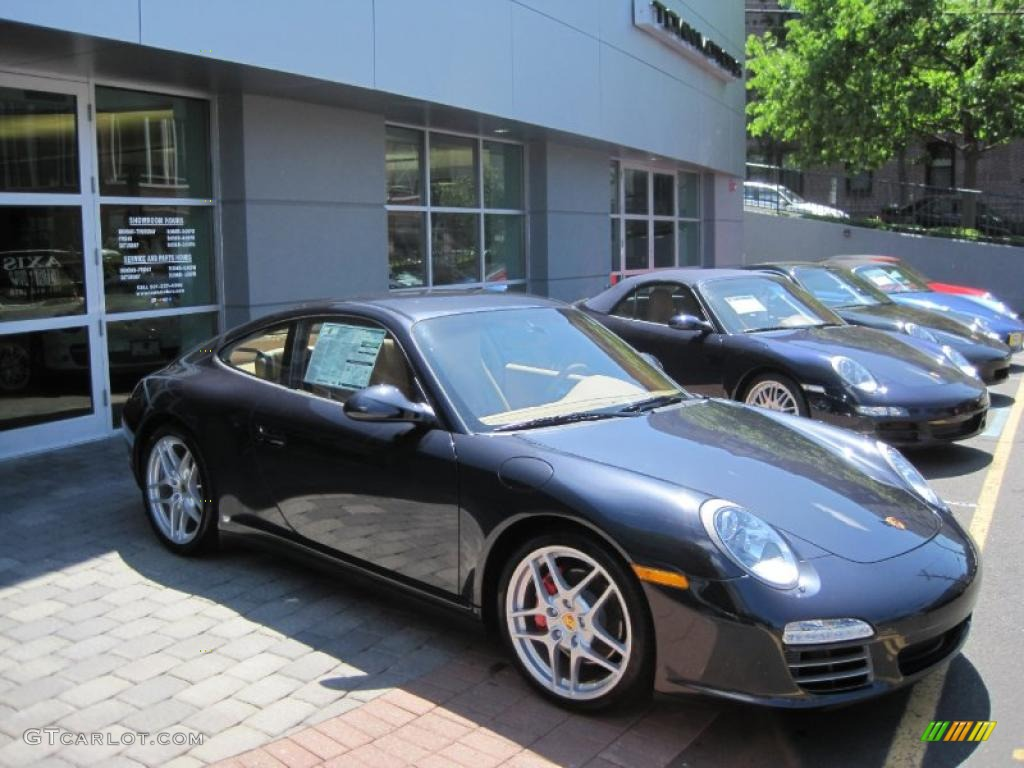 2010 atlas grey metallic porsche 911 carrera 4s coupe. Black Bedroom Furniture Sets. Home Design Ideas