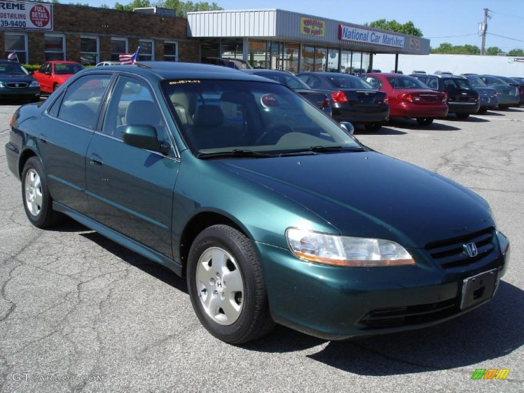 2002 noble green pearl honda accord ex v6 sedan 29762570 car color galleries. Black Bedroom Furniture Sets. Home Design Ideas