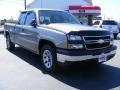 2006 Graystone Metallic Chevrolet Silverado 1500 LS Extended Cab  photo #7