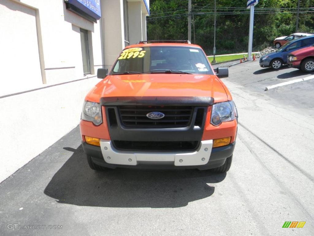 Orange Frost Metallic 2007 Ford Explorer XLT Ironman ...