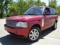 2008 Rimini Red Metallic Land Rover Range Rover V8 HSE #29762276