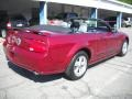2007 Redfire Metallic Ford Mustang GT Premium Convertible  photo #2