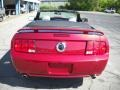 2007 Redfire Metallic Ford Mustang GT Premium Convertible  photo #3