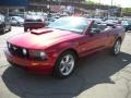 2007 Redfire Metallic Ford Mustang GT Premium Convertible  photo #17
