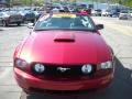 2007 Redfire Metallic Ford Mustang GT Premium Convertible  photo #18