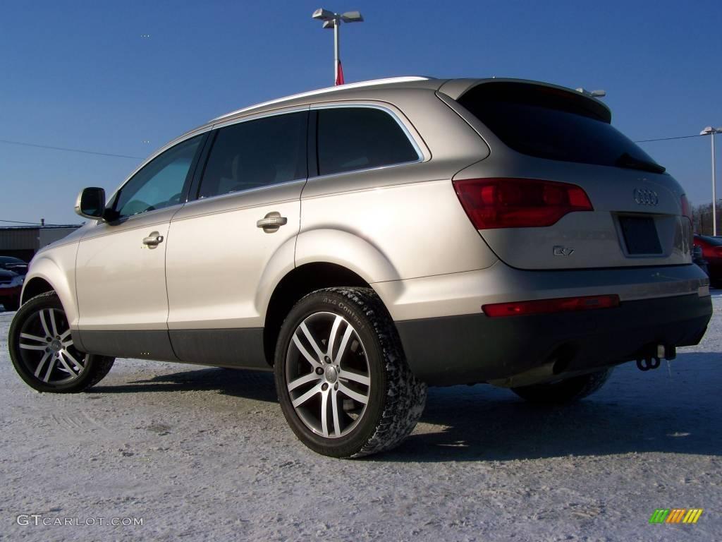 2007 bahia beige metallic audi q7 3 6 premium quattro 2974377 photo 6 car. Black Bedroom Furniture Sets. Home Design Ideas