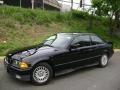 Black 1994 BMW 3 Series 318i Coupe