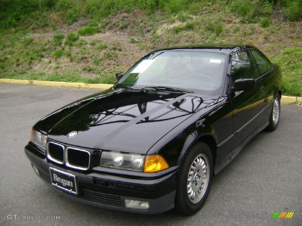 1994 3 series 318i coupe black black photo 3