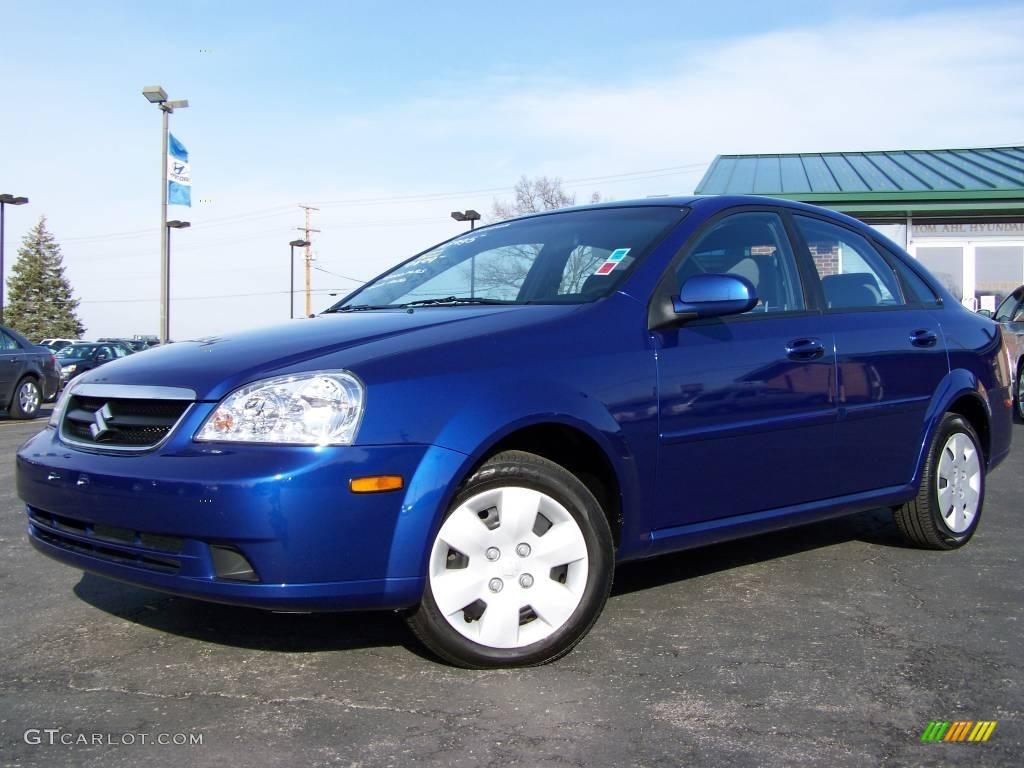 Blue Suzuki Forenza