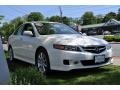 2008 Premium White Pearl Acura TSX Sedan  photo #4