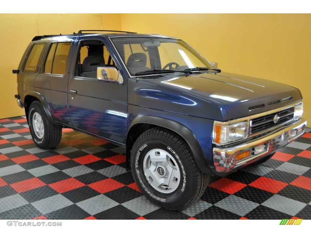 1995 sapphire blue pearl metallic nissan pathfinder se 29832038 gtcarlot com car color galleries gtcarlot com