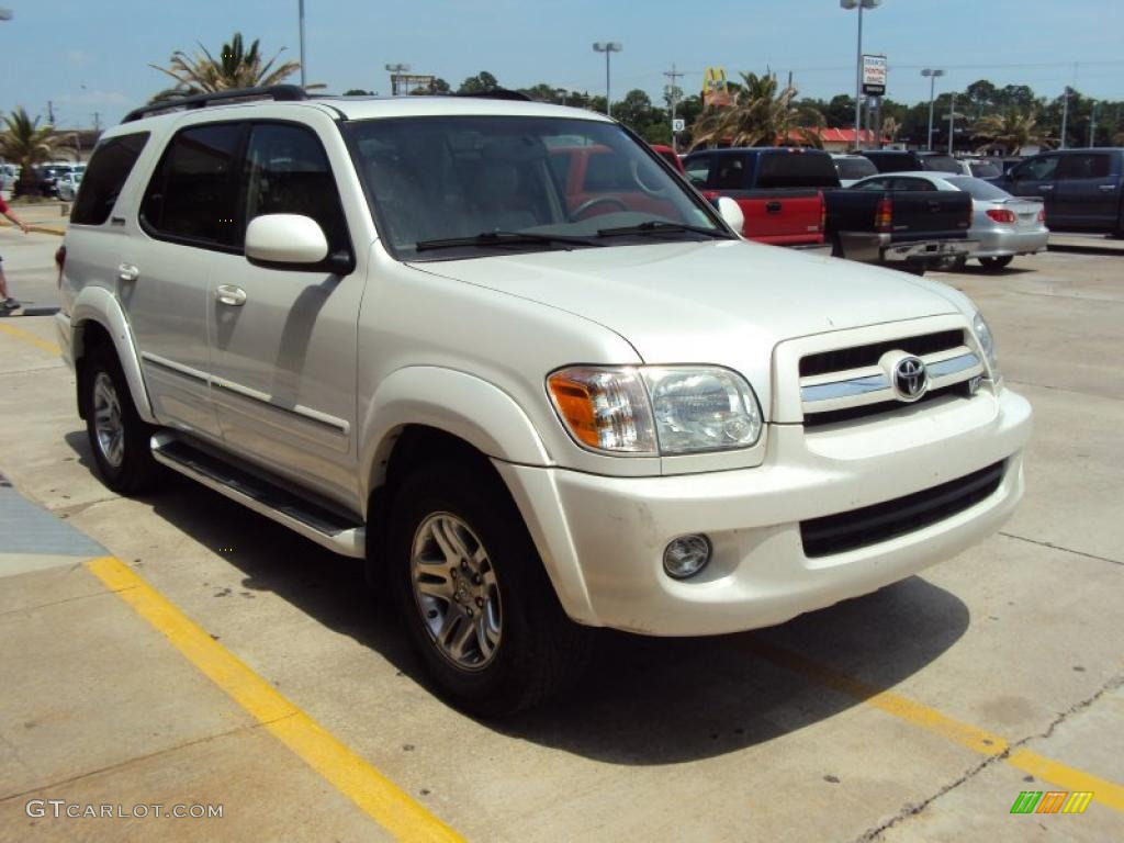 2006 natural white toyota sequoia limited 29831678 photo 5 car color galleries. Black Bedroom Furniture Sets. Home Design Ideas