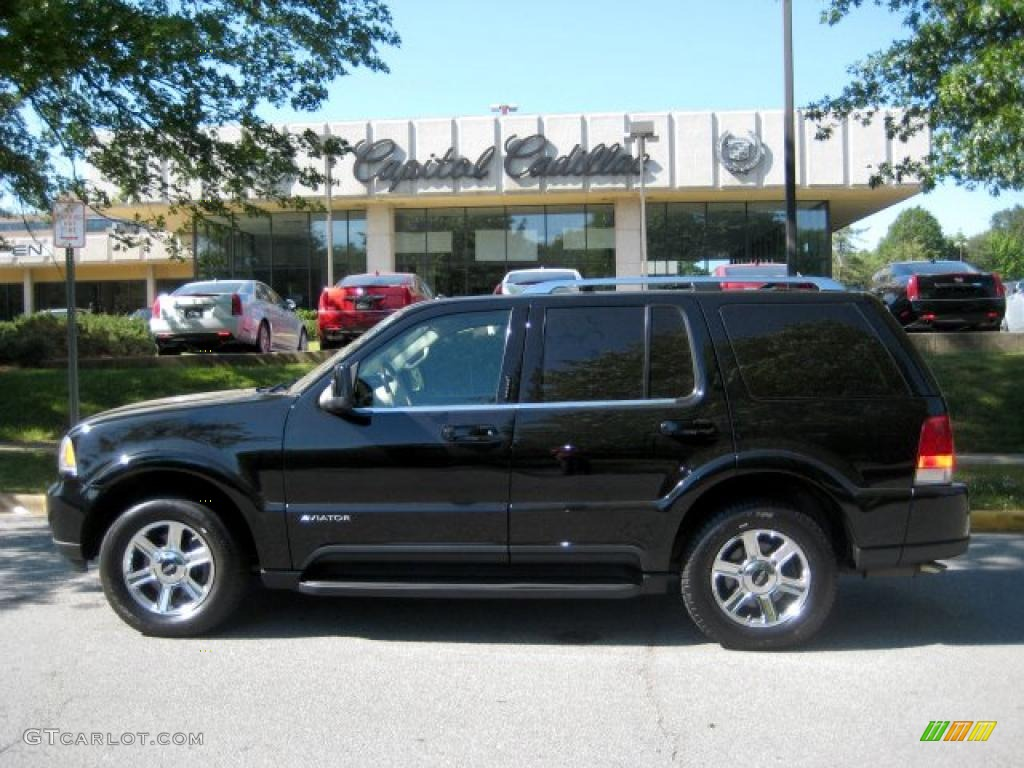2003 Black Clearcoat Lincoln Aviator Premium Awd 29831729 Car Color Galleries