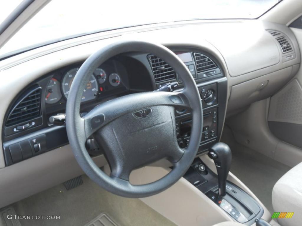 2000 daewoo nubira cdx wagon dashboard photos