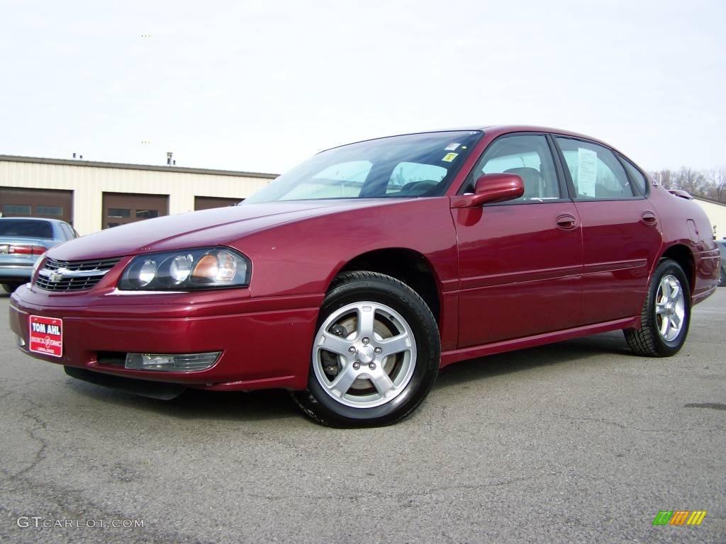 2005 sport red metallic chevrolet impala ls 2973979. Black Bedroom Furniture Sets. Home Design Ideas
