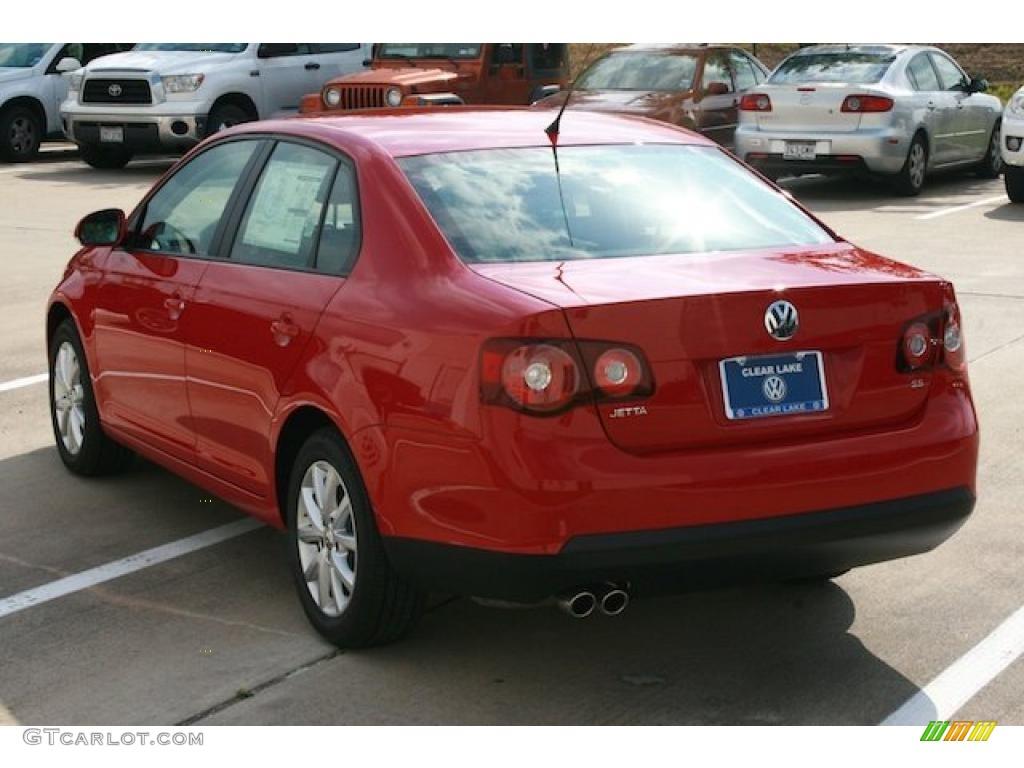 2010 salsa red volkswagen jetta limited edition sedan 29900200 photo 2 car. Black Bedroom Furniture Sets. Home Design Ideas
