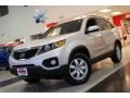 2011 Bright Silver Kia Sorento LX  photo #2