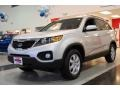 2011 Bright Silver Kia Sorento LX  photo #3