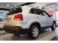2011 Bright Silver Kia Sorento LX  photo #8