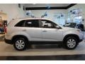2011 Bright Silver Kia Sorento LX  photo #9