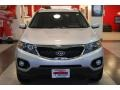 2011 Bright Silver Kia Sorento LX  photo #11