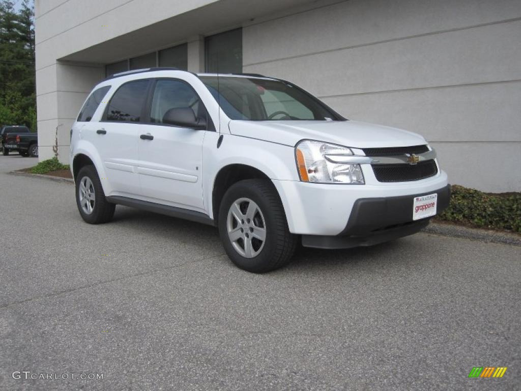 2006 Summit White Chevrolet Equinox LS AWD 29899825  GTCarLot