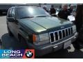 1996 Forest Green Pearlcoat Jeep Grand Cherokee Laredo  photo #1